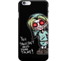 Ben Drowned Dirty Sketch iPhone Case/Skin