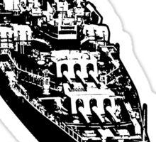 USS Iowa (BB-61) Sticker