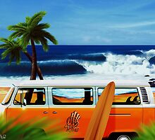 Furgoneta Surf by 4d2SurfyArte