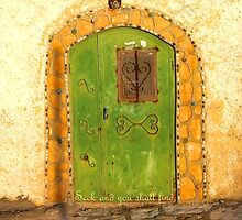 Knock and the Door shall be Opened by aline