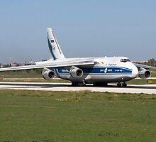 Volga Dnepr Antonov An-124 Ruslan by Matthew Scerri