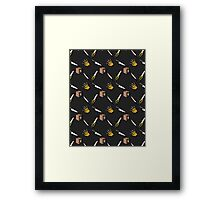 The Claw, The Box, The Knife, The Blade, and the Saw Framed Print