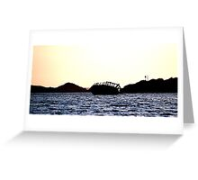 donegal shipwreck Greeting Card