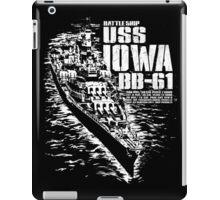 USS Iowa (BB-61) iPad Case/Skin