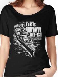 USS Iowa (BB-61) Women's Relaxed Fit T-Shirt