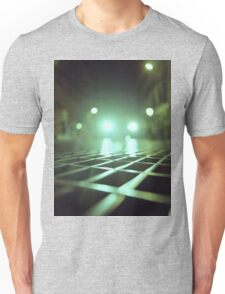 Grid city streets Hasselblad square medium format analogue film photograph Unisex T-Shirt