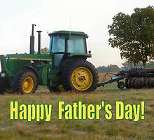 Happy Father's Day Tractor by MoreKeala