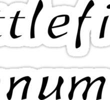 Battlefield Monument Sticker