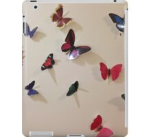 flitter-fitter on the wall iPad Case/Skin