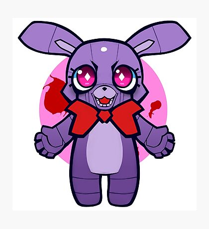 Chibi Bonnie Photographic Print