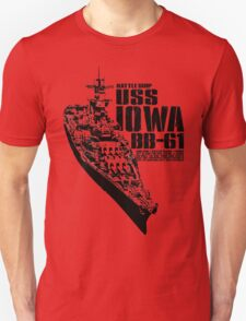 USS Iowa (BB-61) T-Shirt