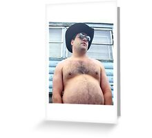 Randy From Trailer Park Boys Greeting Card