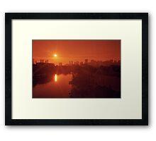 Miami Heat Framed Print