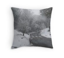Warkworth Northumberland Throw Pillow