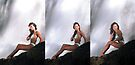 Rebecca - Triptych by Stephen Beattie