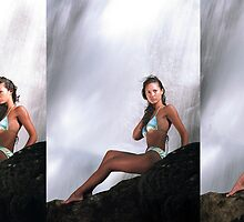Rebecca - Triptych by Stephen Beattie