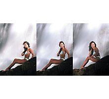 Rebecca - Triptych Photographic Print