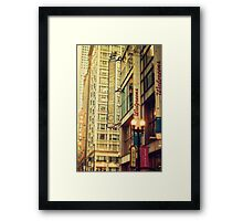 Joffrey Ballet Framed Print