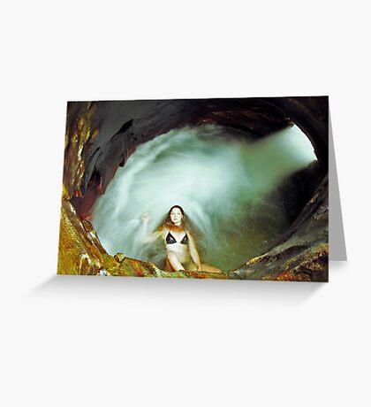 Ariel - Whirlpool Greeting Card