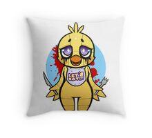 Chibi Chica Throw Pillow