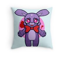 Chibi Bonnie Throw Pillow