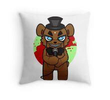 Chibi Freddy Throw Pillow