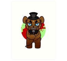 Chibi Freddy Art Print