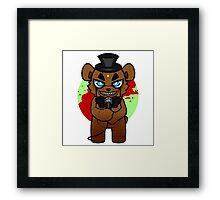 Chibi Freddy Framed Print