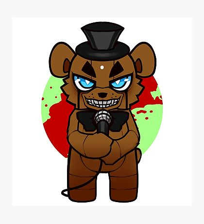 Chibi Freddy Photographic Print