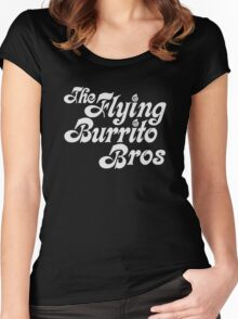 Flying Burrito Brothers Shirt Women's Fitted Scoop T-Shirt