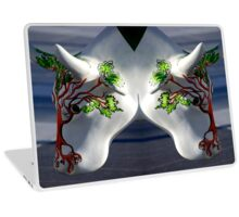 Cow with tree, Ebrington, Derry Laptop Skin