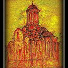 old church by thorald