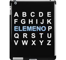 ABC ELEMENO Alphabet iPad Case/Skin