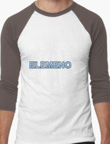 ABC ELEMENO Alphabet Men's Baseball ¾ T-Shirt