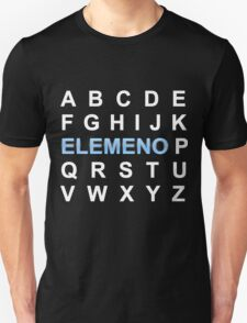 ABC ELEMENO Alphabet T-Shirt