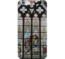 Stained Glass Window, St Salvator's cathedral, Bruge, Belgium  iPhone Case/Skin