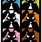 Reservoir Bunnies Poster by Wislander