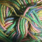 Multicolored Yarn by Stephen Thomas