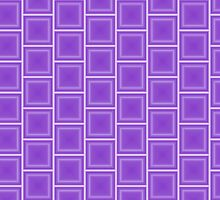 Geometric Purple by juststickit