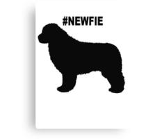 #Newfie Canvas Print
