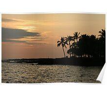 Hawaiin Sunset Poster