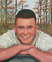 Sgt. Ron Shelley U.S. Army by Sandy Sparks