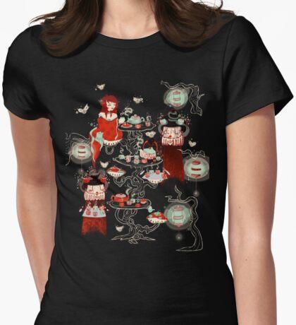 Little Tea Tree Womens Fitted T-Shirt