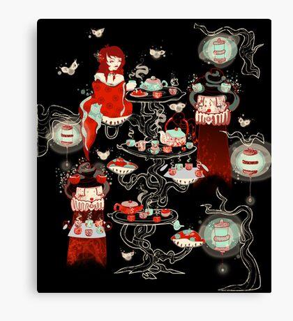 Little Tea Tree Canvas Print