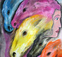 horse echos by janaschmidt