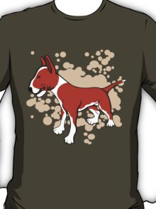 EBT Brown White and Fawn Paint Splash T-Shirt