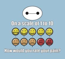 Toon Quote : Big Hero 6 - On a scale of 1 to 10, how would you rate your pain? by blindcoco