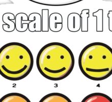 Toon Quote : Big Hero 6 - On a scale of 1 to 10, how would you rate your pain? Sticker