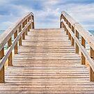 Beach Boardwalk by Kenneth Keifer
