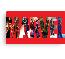 marvel avengers Canvas Print